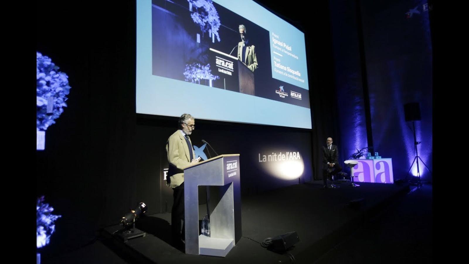 El discurs del president de l'ARA, Ferran Rodés