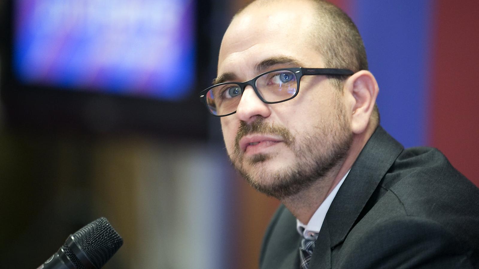 El precandidat Jordi Farré.