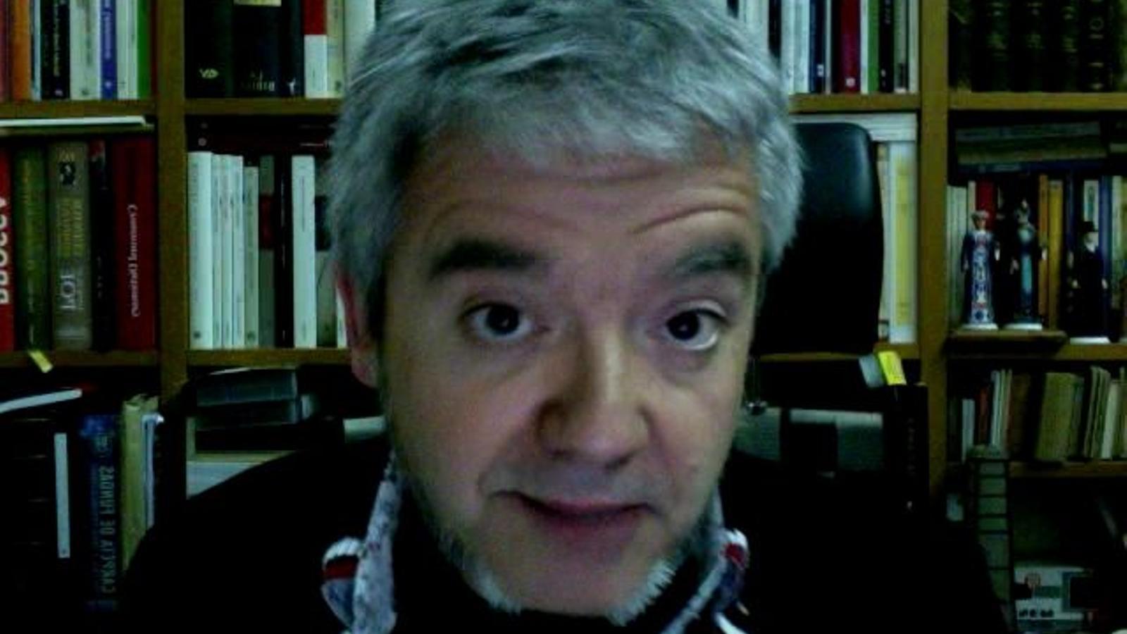 El manifest del Correllengua 2012 llegit per l'autor, Màrius Serra