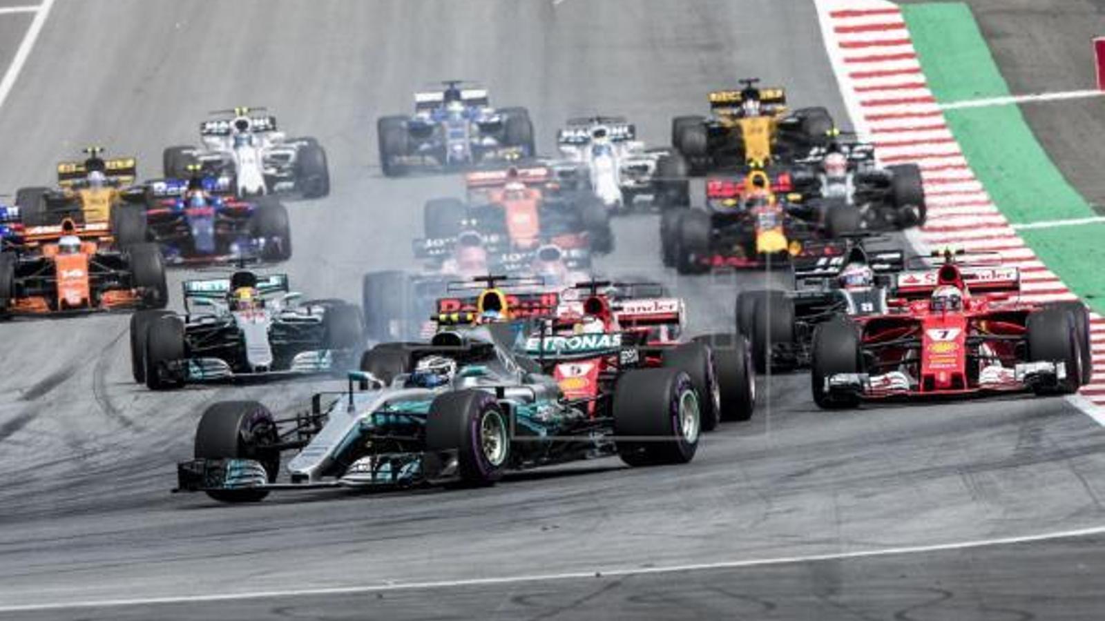 Valteri Bottas es va proclamar campió del Gran Premi d'Àustria / EFE
