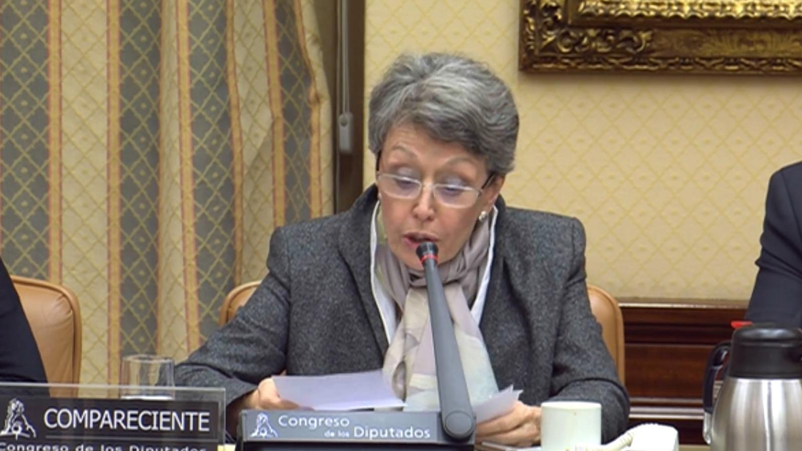 """Rosa María Mateo a Ramón Moreno (PP): """"És molt mesquí i miserable"""""""
