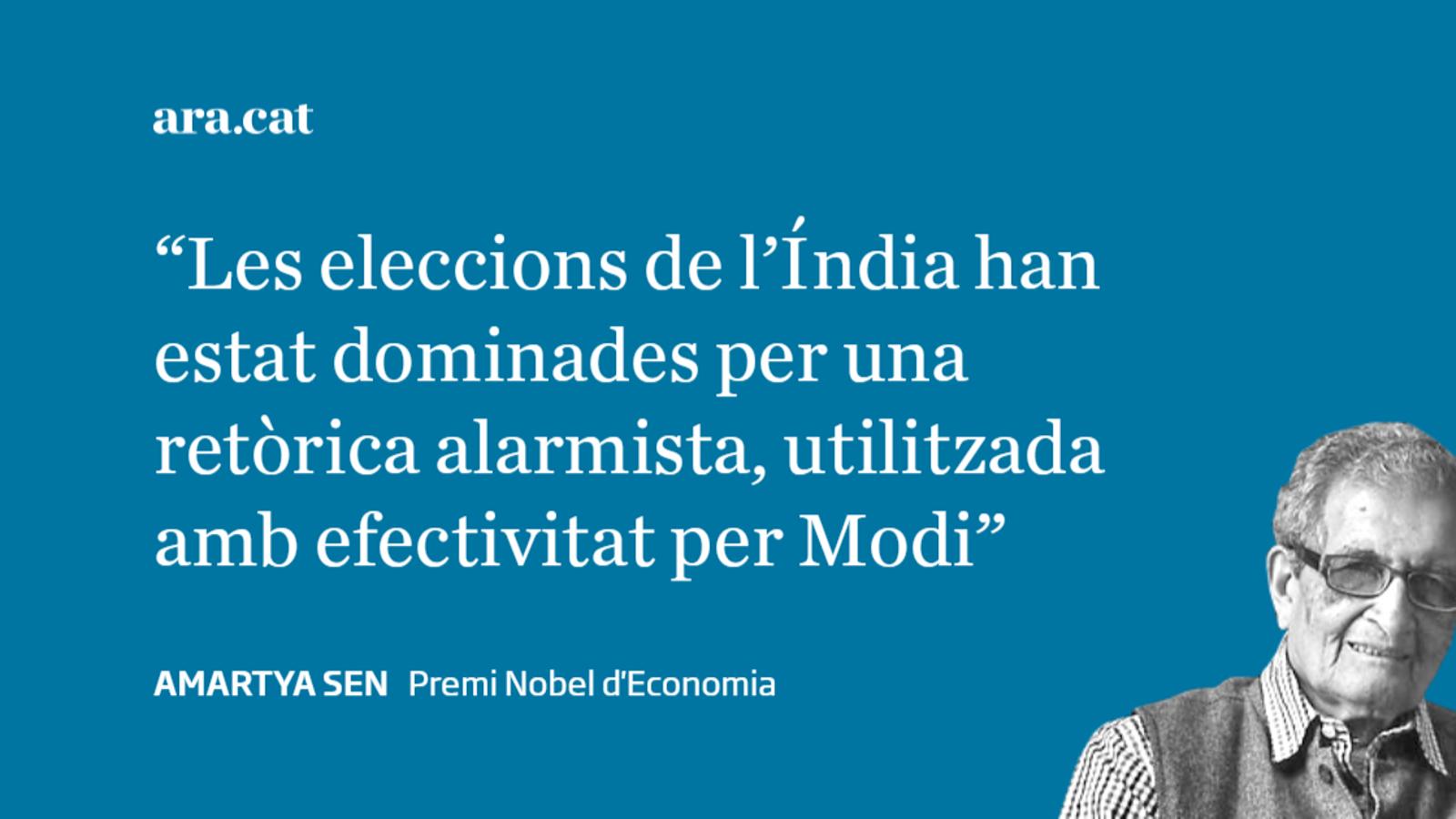 Modi ha guanyat el poder, no pas la batalla de les idees