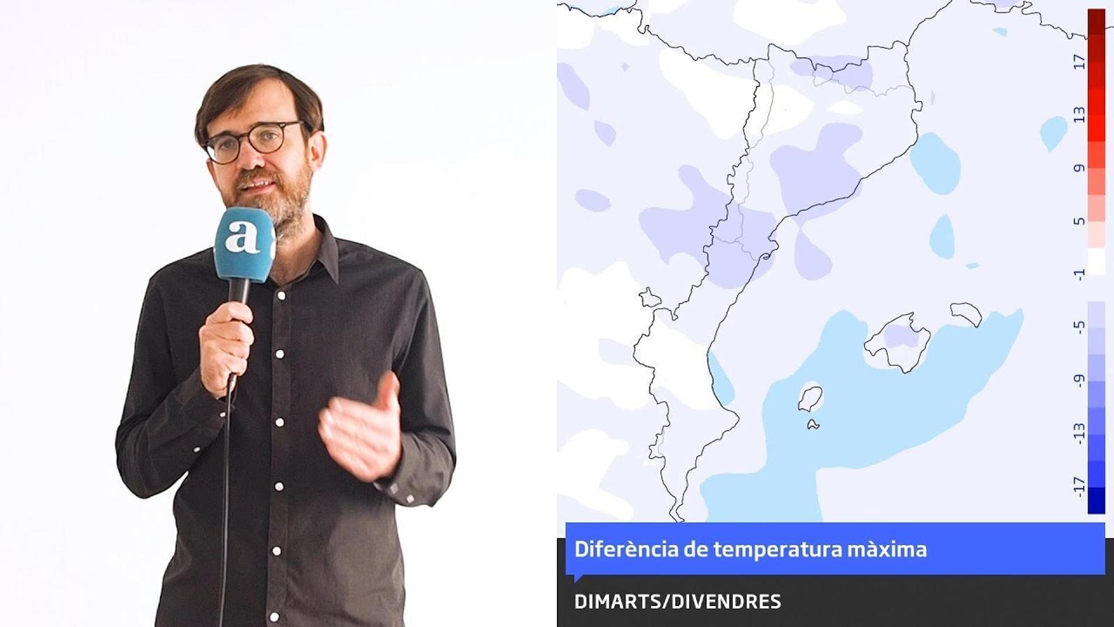 La méteo: fred més cru i neu a cotes baixes en el canvi d'any