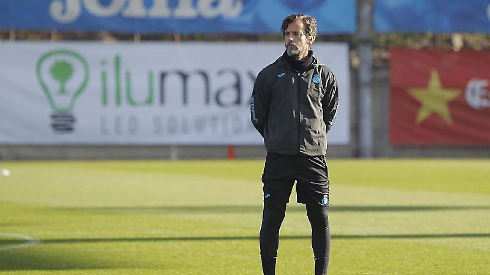 Quique Sánchez Flores, entrenador de l'Espanyol.