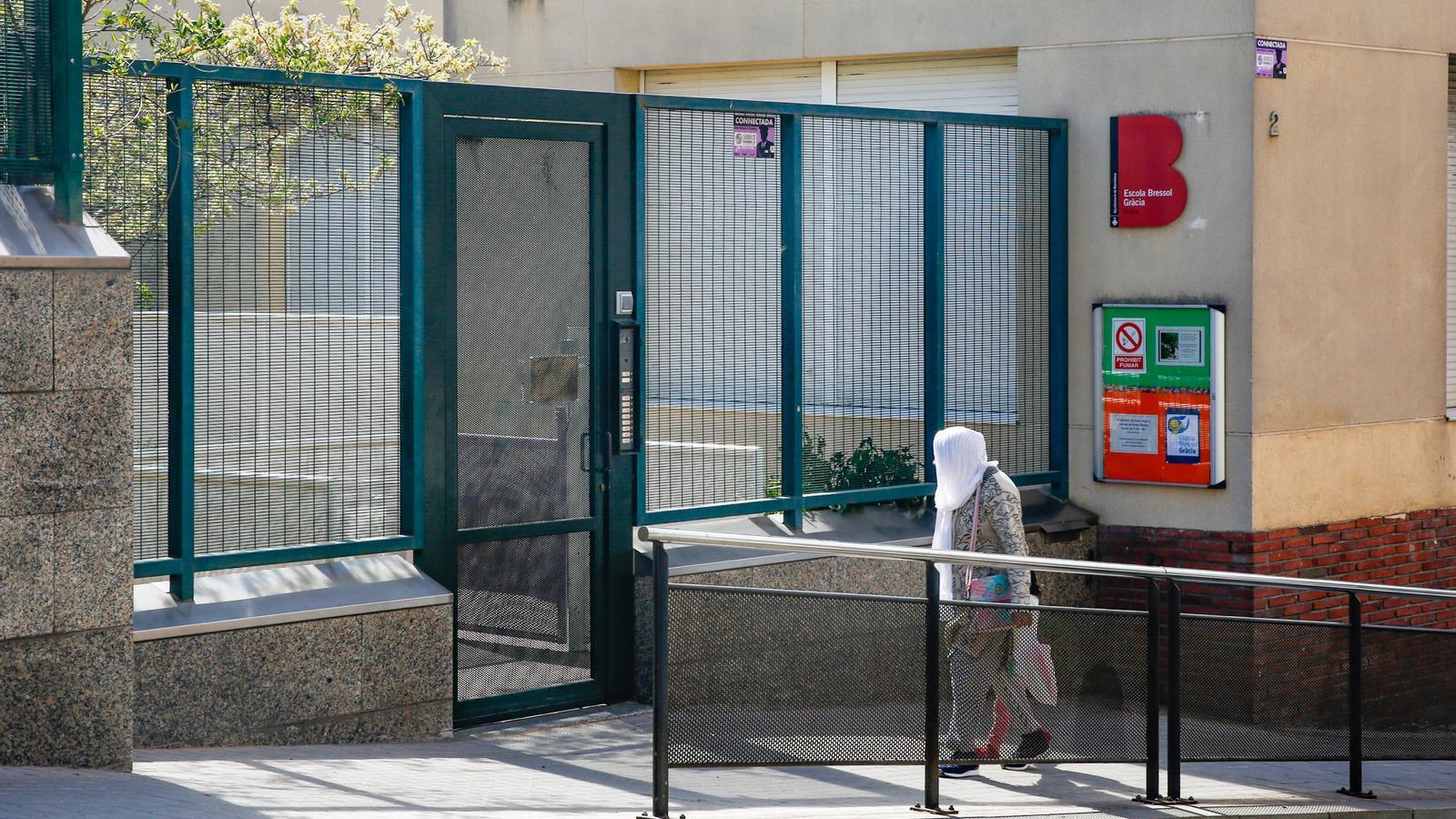L'Escola Bressol de Gràcia, tancada per un cas de coronavirus