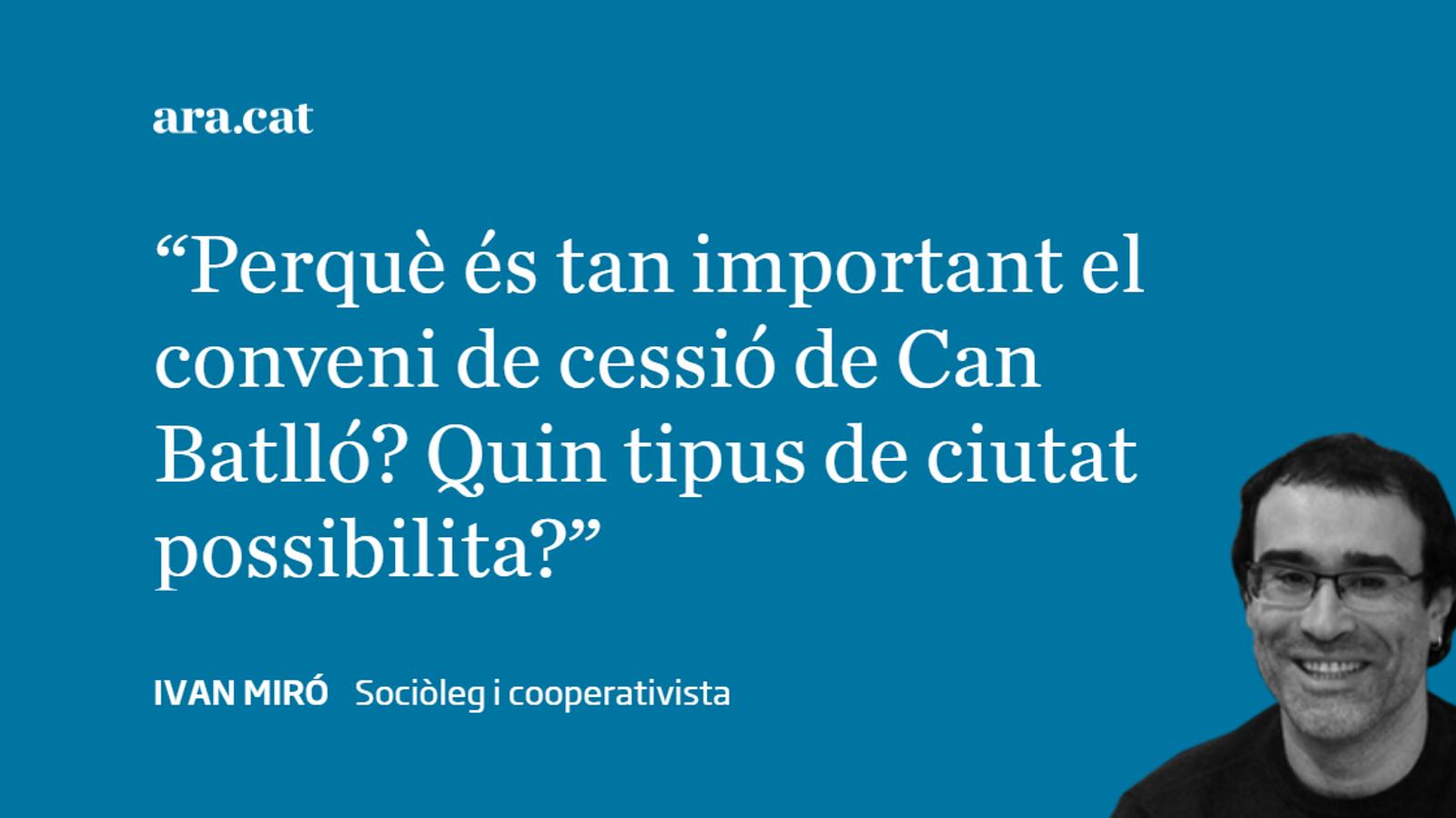 Can Batlló i la ciutat possible