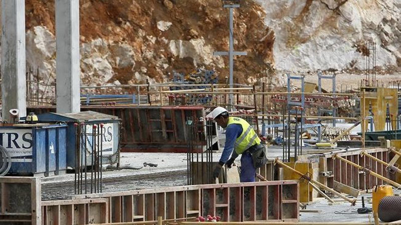 El sector de la construcció va ser el primer trimestre el de major creixement