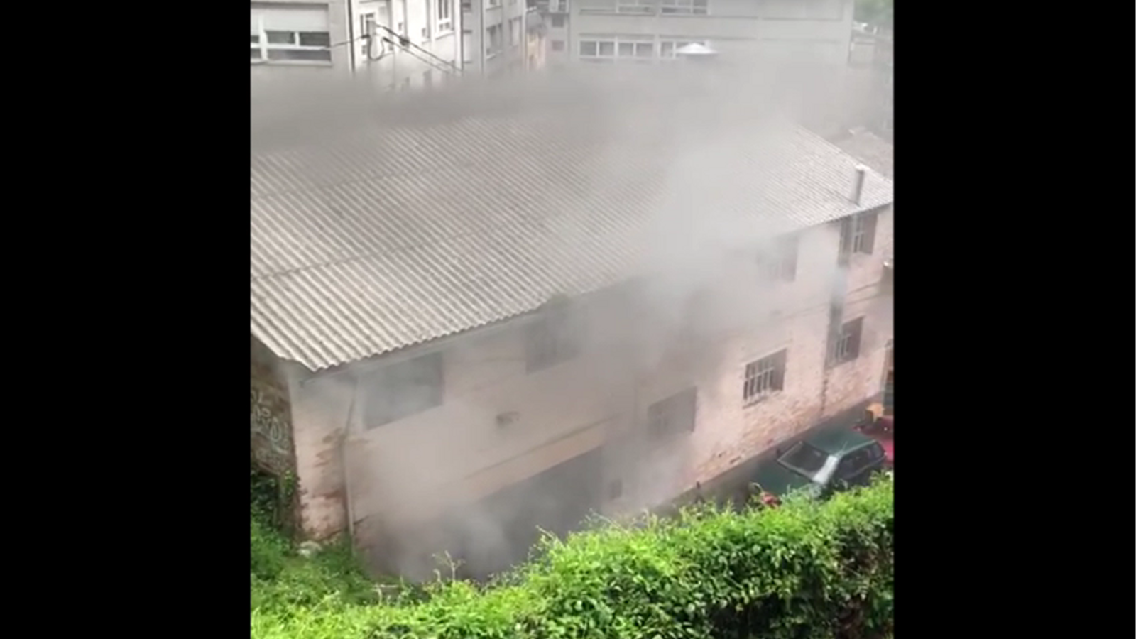 Petita explosió en una caldera d'un taller mecànic de Santa Coloma