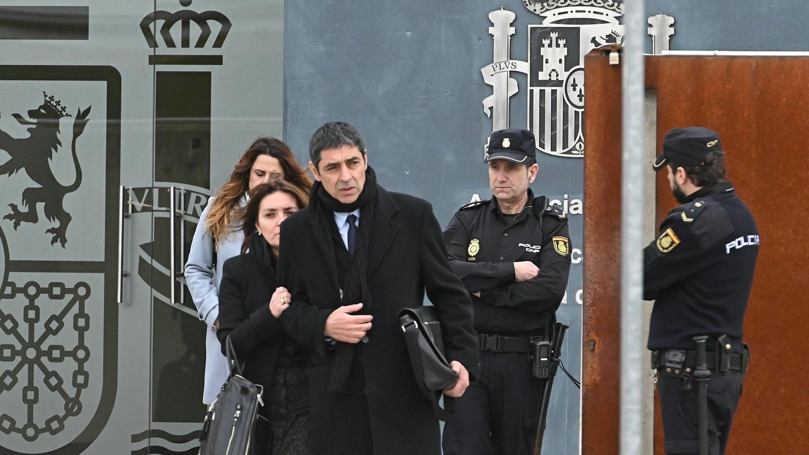 Trapero afirma que es va negar a ajudar el Govern per controlar les duanes