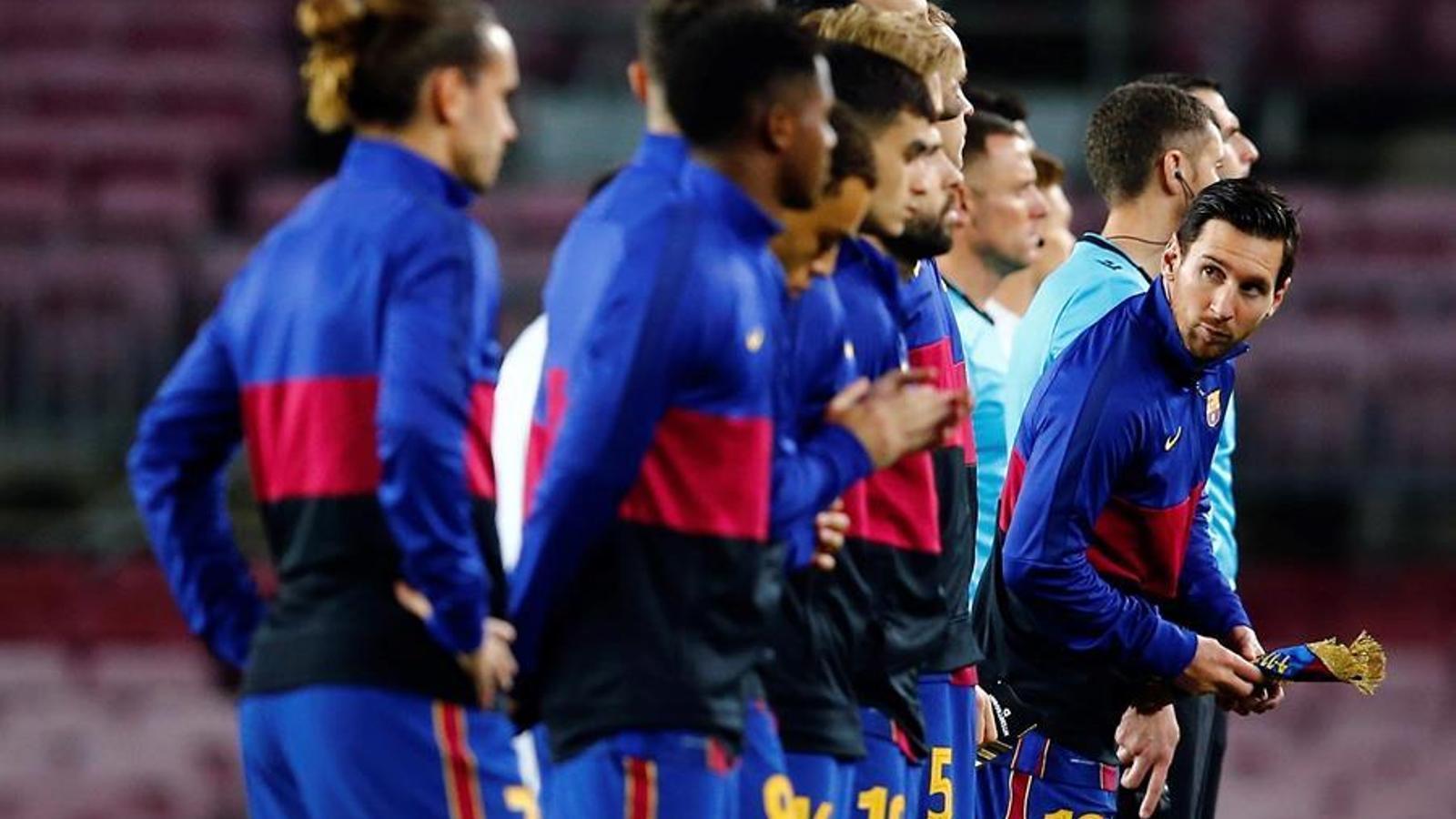 La taula de negociació salarial del Barça arriba a l'últim dia sense acord