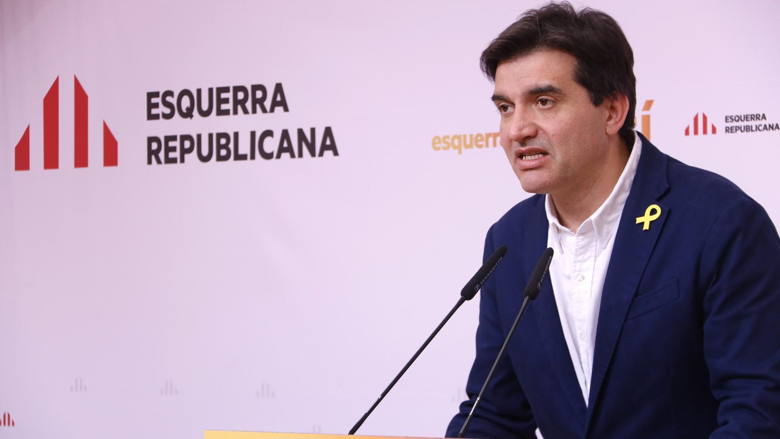 ERC es manté ferma en el 'no' als pressupostos de l'Estat malgrat la petició dels comuns