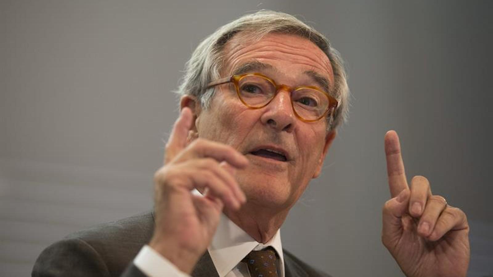 L'alcalde de Barcelona, Xavier Trias, aquest dilluns / EFE