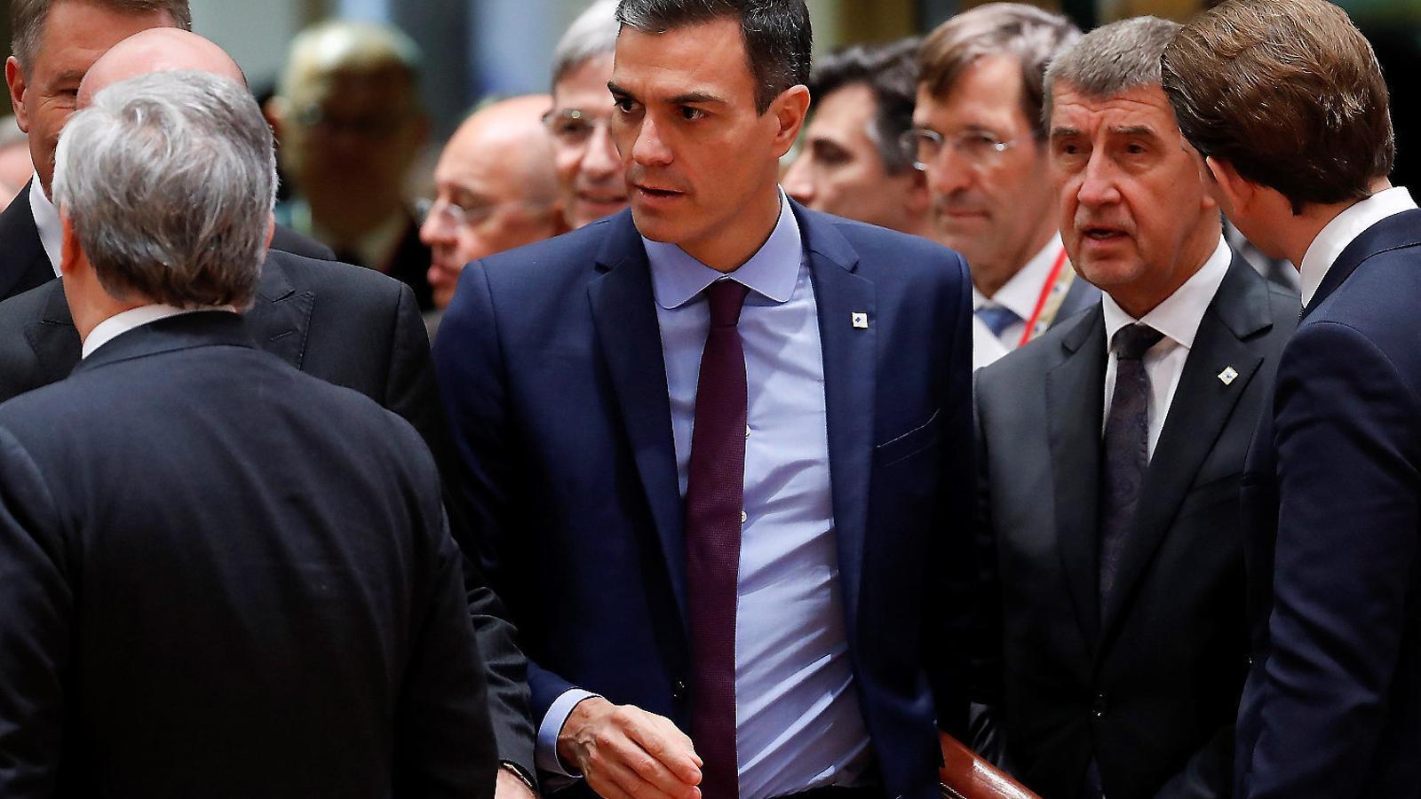 """Sánchez no preveu una """"proposta política"""" fins després del judici"""