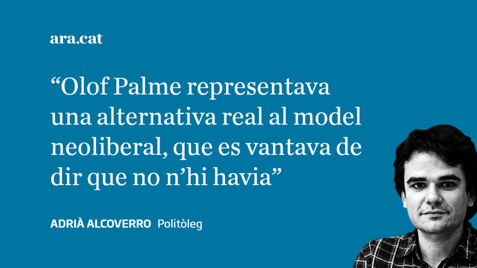 Olof Palme: l'assassinat de la convicció socialdemòcrata