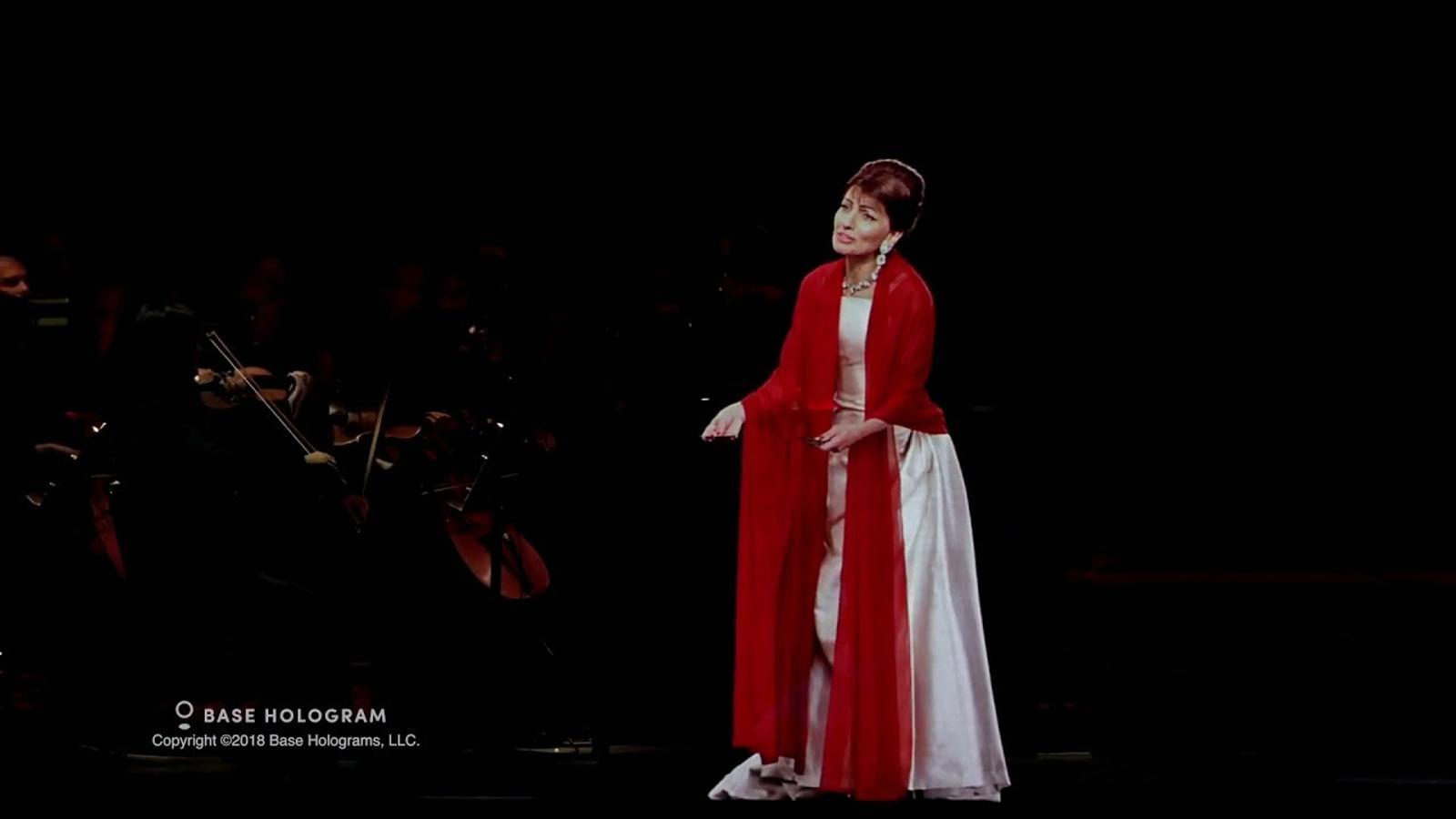 L'holograma de Maria Callas actuarà demà a Sant Cugat
