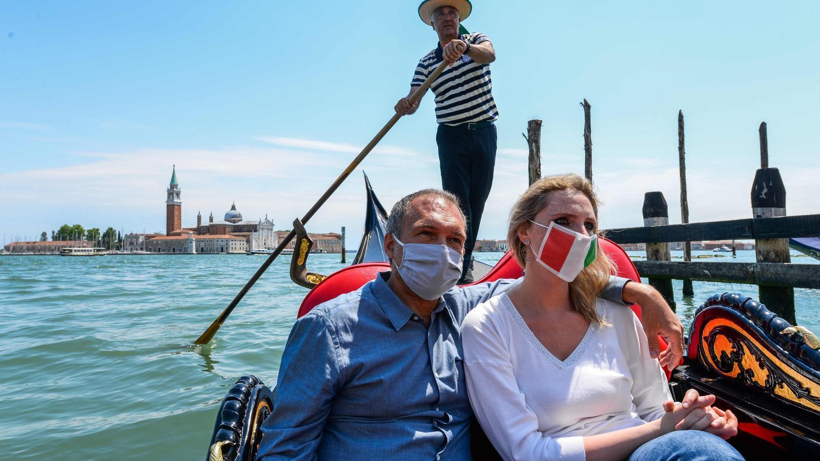 Amb l'aullegeriment del confinament s'han reprès els trajectes en gondola