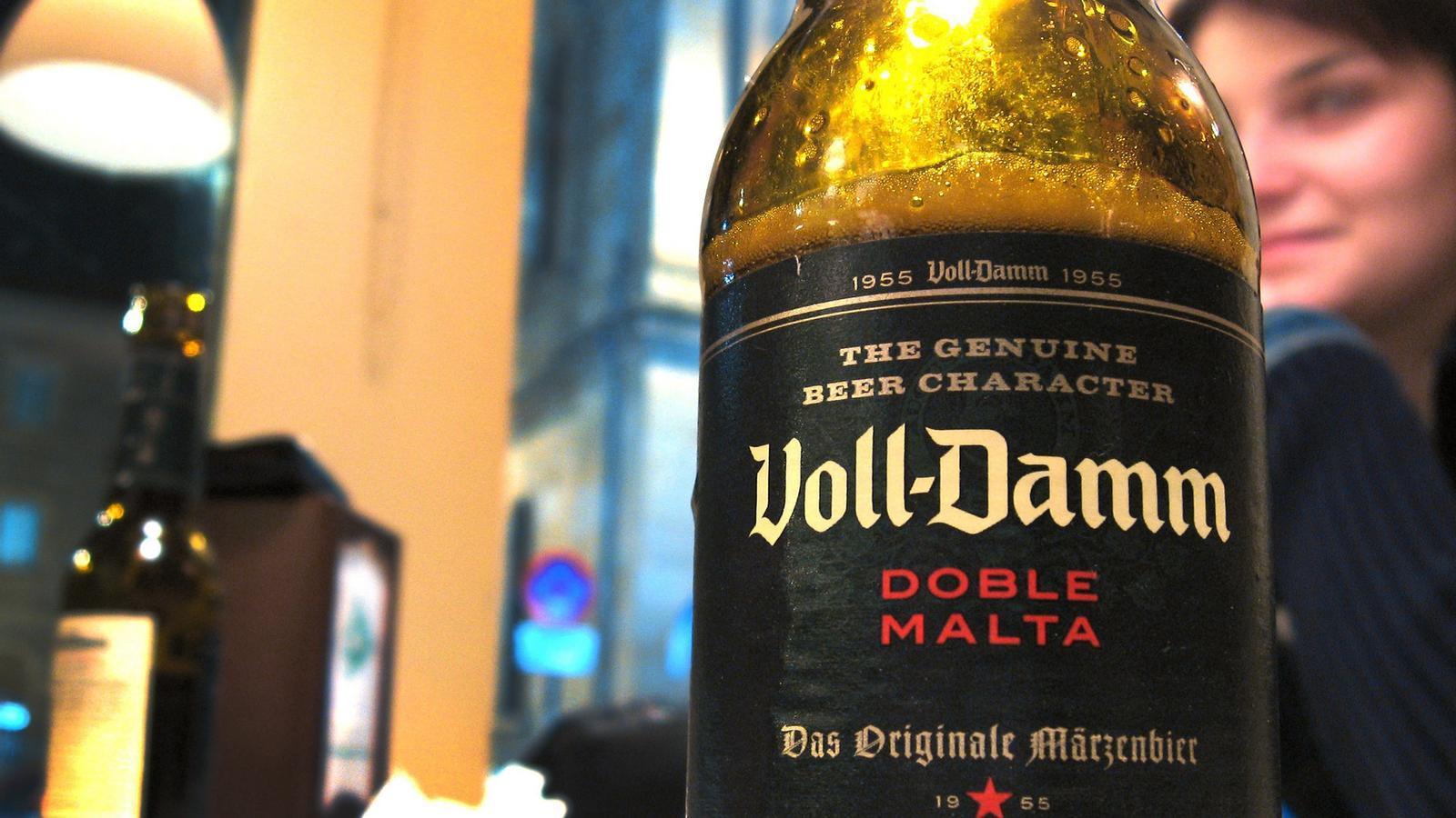 Les vendes de les marques de cervesa Damm han baixat un 10% / ARA