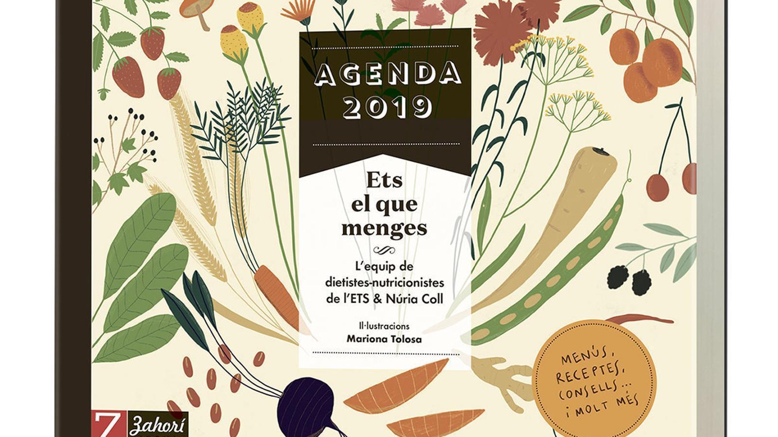 L'agenda del 2019 d''Ets el que menges', amb l'ARA