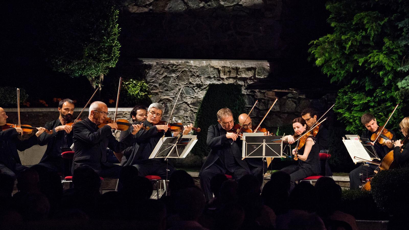 Un concert anterior de l'ONCA. / Fundació ONCA