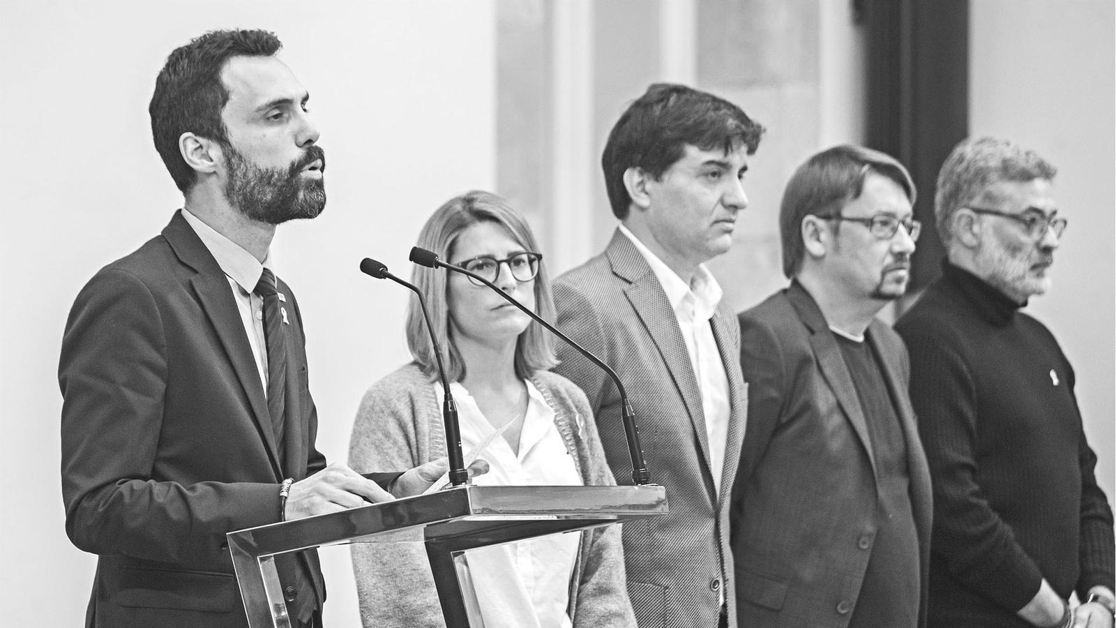 L'anàlisi d'Antoni Bassas: 'Els partits han de trencar el vidre en cas d'emergència'