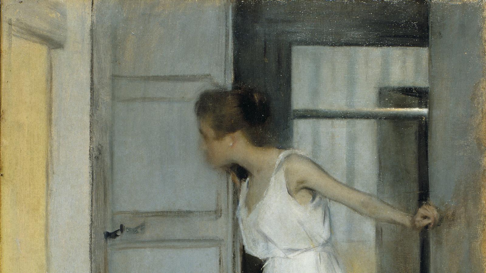Ramon Casas, 'Estudi d'estiu', 1893