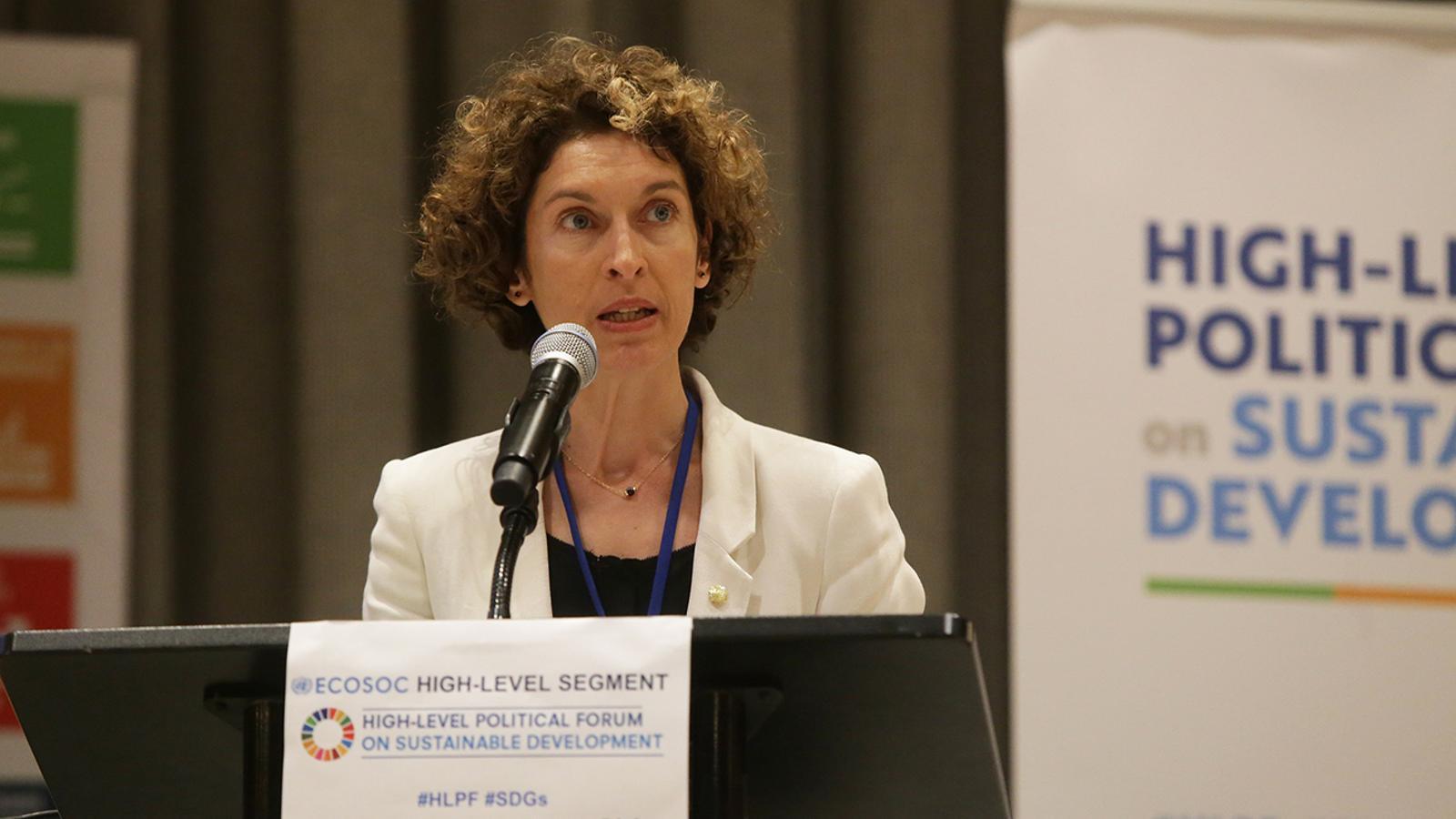 Les constribucions voluntàries al Consell d'Europa i a la Unesco han estat una proposta de la ministra d'Afers Exteriors, Maria Ubach. / SFG