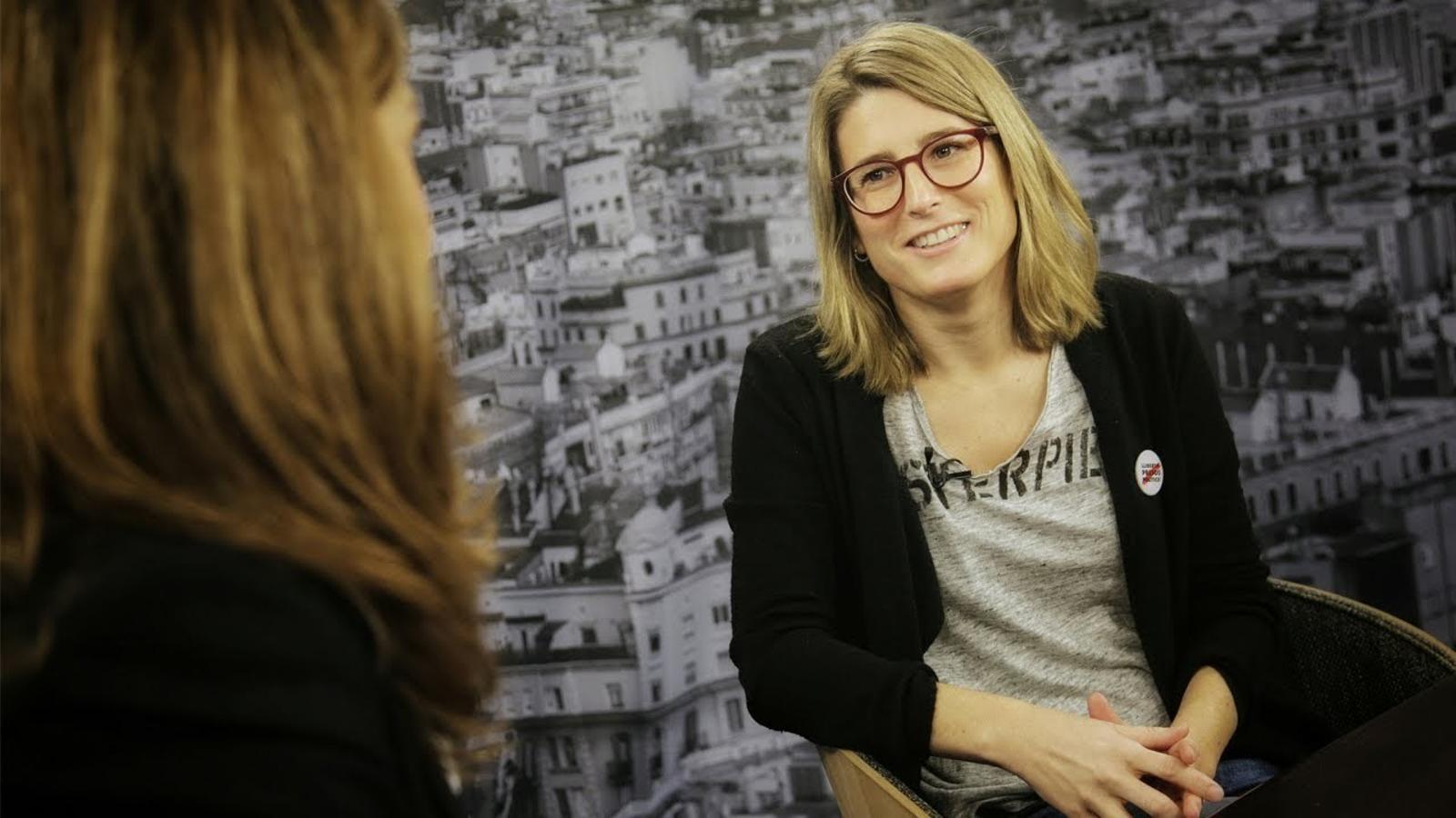 Entrevista d'Esther Vera a Elsa Artadi
