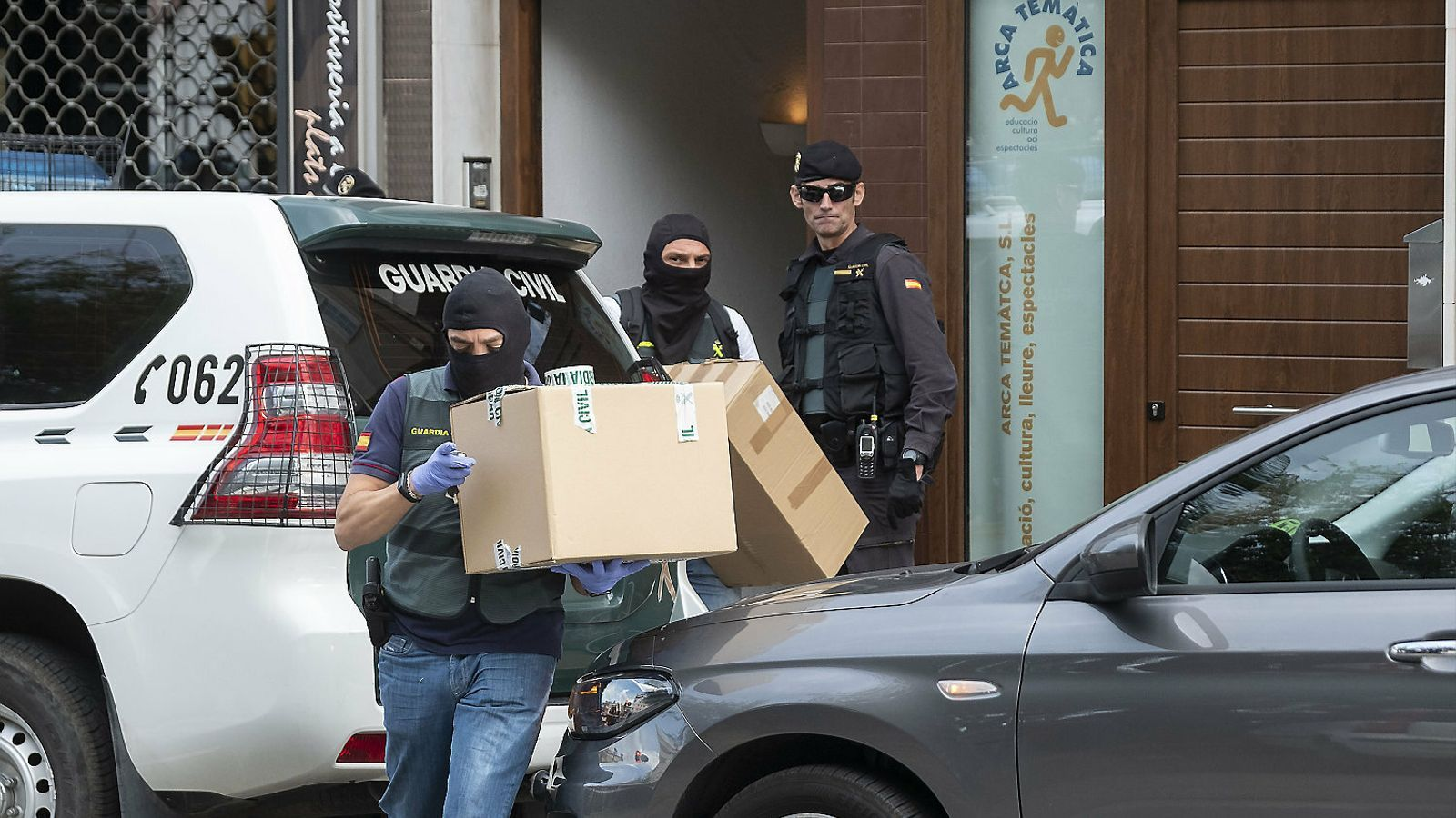 Operatiu policial contra els CDR  a les portes de la sentència de l'1-O