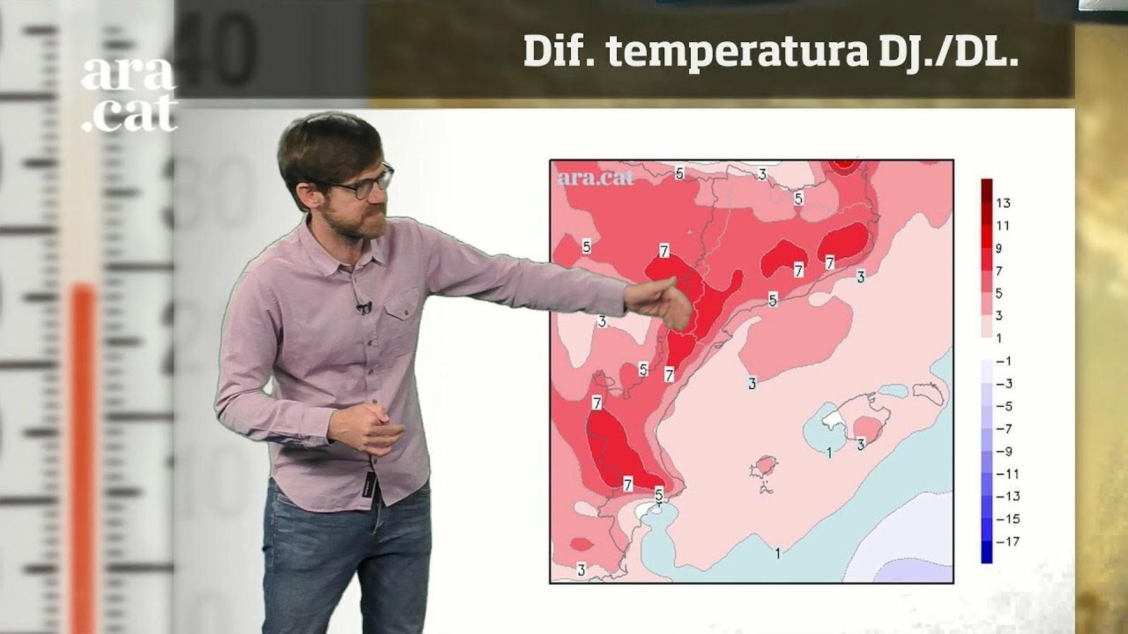 La méteo en 1 minut: la calor intensa treurà el nas la setmana que ve