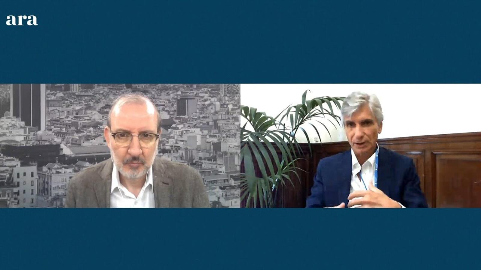 Entrevista d'Antoni Bassas a Josep Maria Argimon