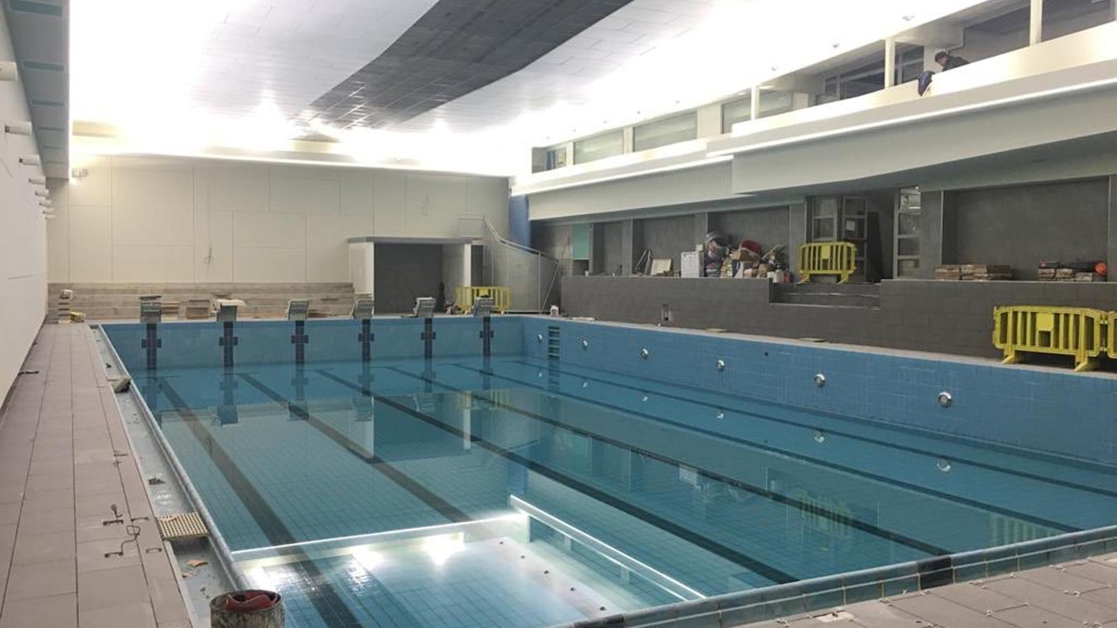 L'estat actual de la piscina comunal d'Escaldes-Engordany. / Comú d'Escaldes-Engordany