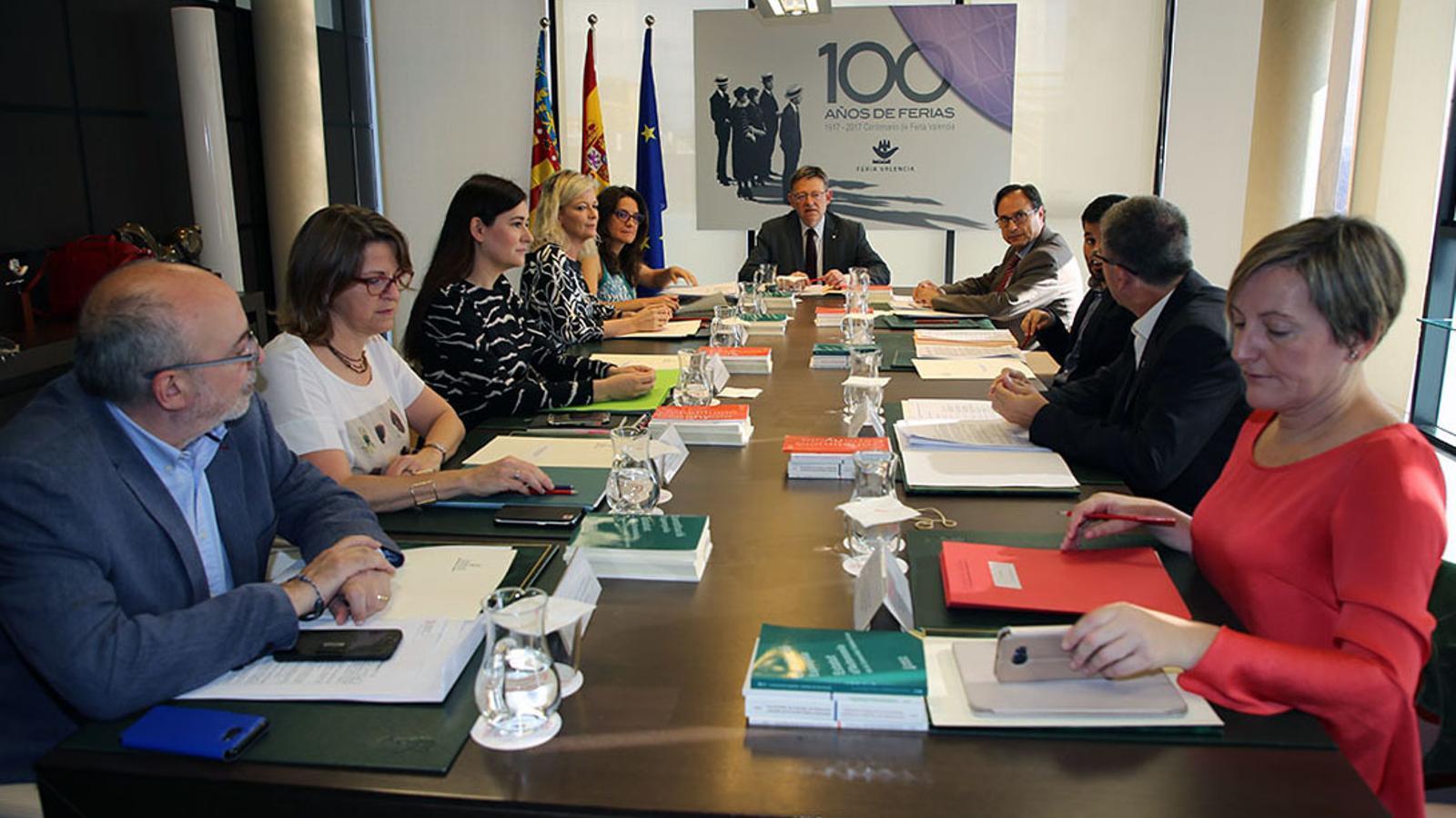 El ple del Consell que va aprovar l'ús preferent del valencià en l'administració autonòmica al qual s'oposa l'Advocacia de l'Estat / GENERALITAT VALENCIANA
