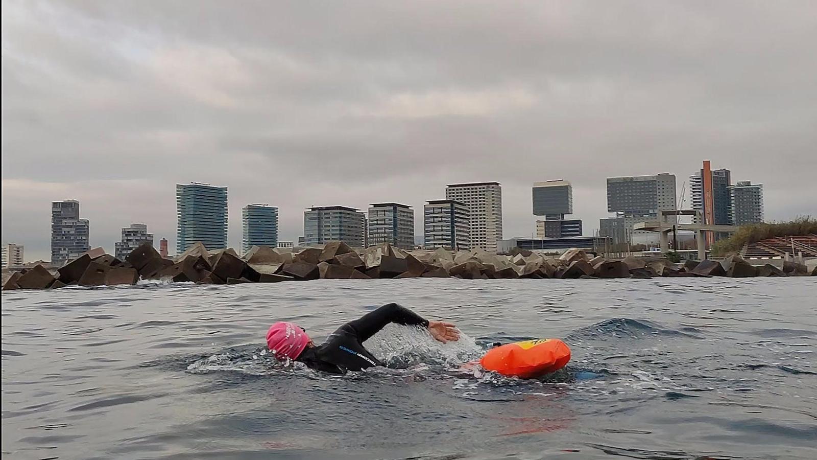 De cap al mar per nedar