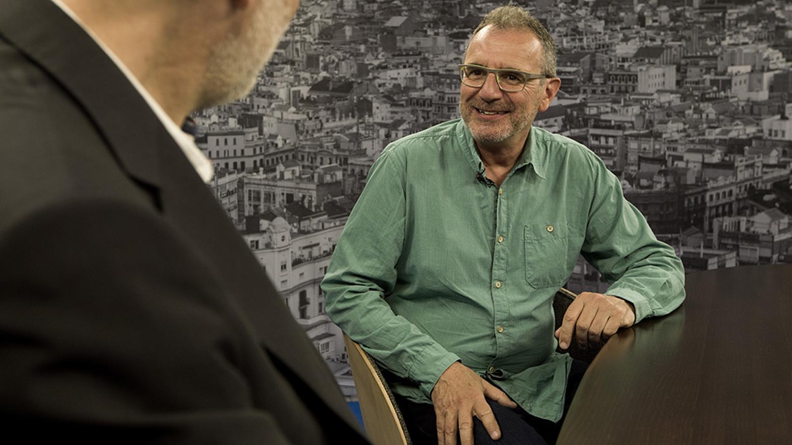 Entrevista d'Antoni Bassas a Quimi Portet
