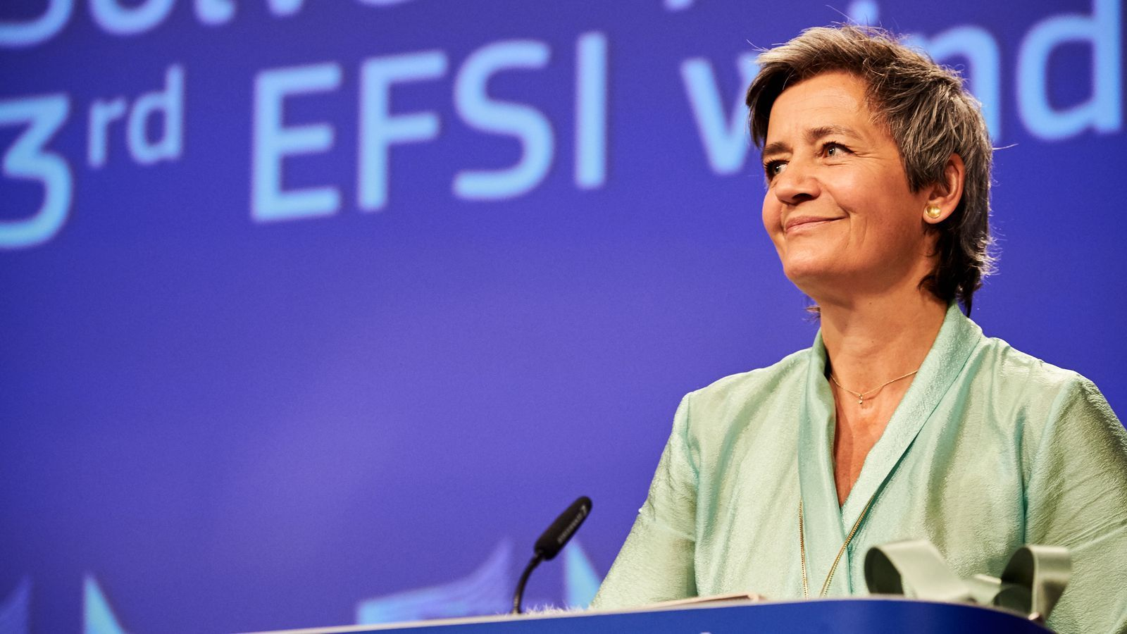La Comissària europea de Competència, Mergrethe Vestager