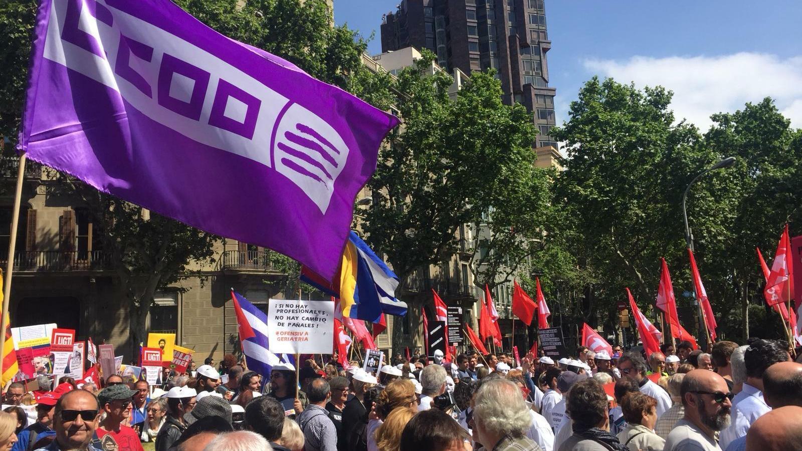 Els resultats del 28-A donen força al clam sindical contra la reforma laboral