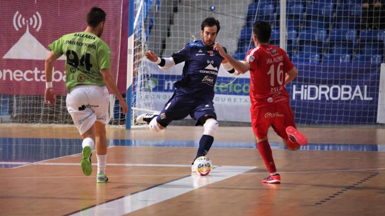 Crisis en el Palma Futsal abans de rebre el Movistar Inter a la lliga