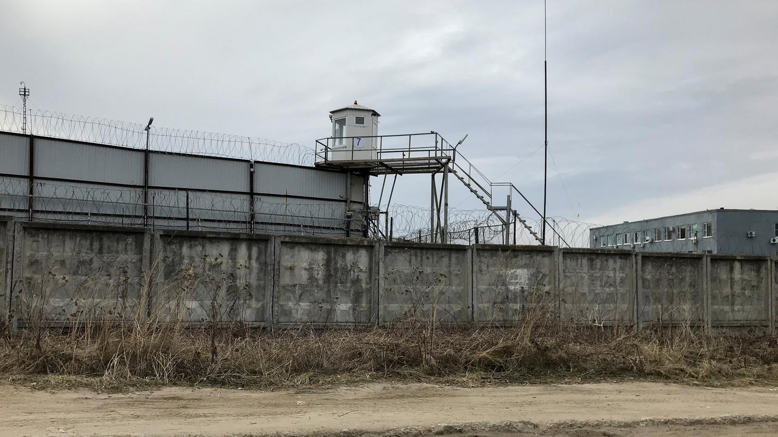 Una vista exterior d'un centre penitenciari de Rússia