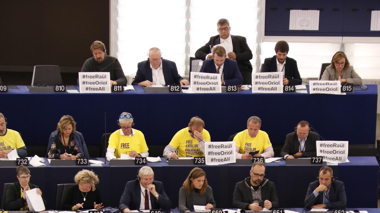 L'Eurocambra rebutja debatre sobre la situació a Catalunya