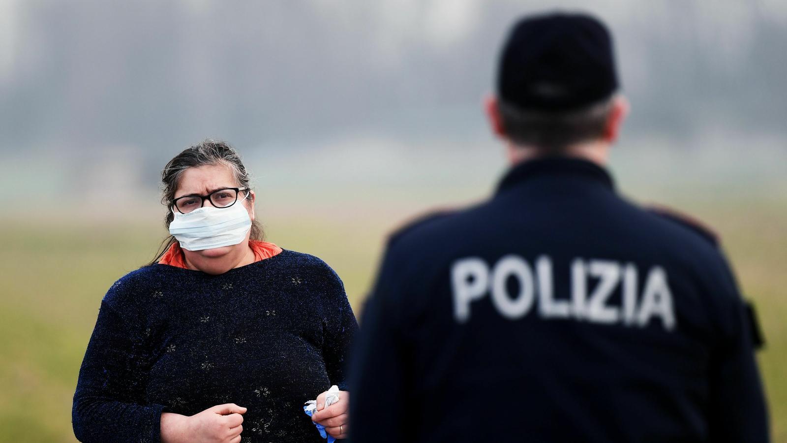 El nord d'Itàlia, paralitzat pel coronavirus