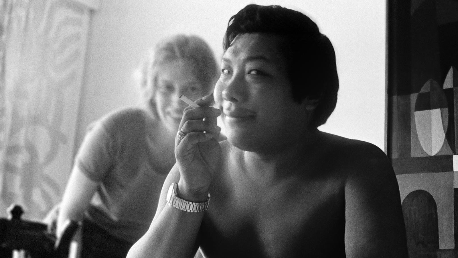 fotograma del documental 'Crazy Wisdom' de Johanna Demetrakas sobre la vida de Chogyam Trungpa