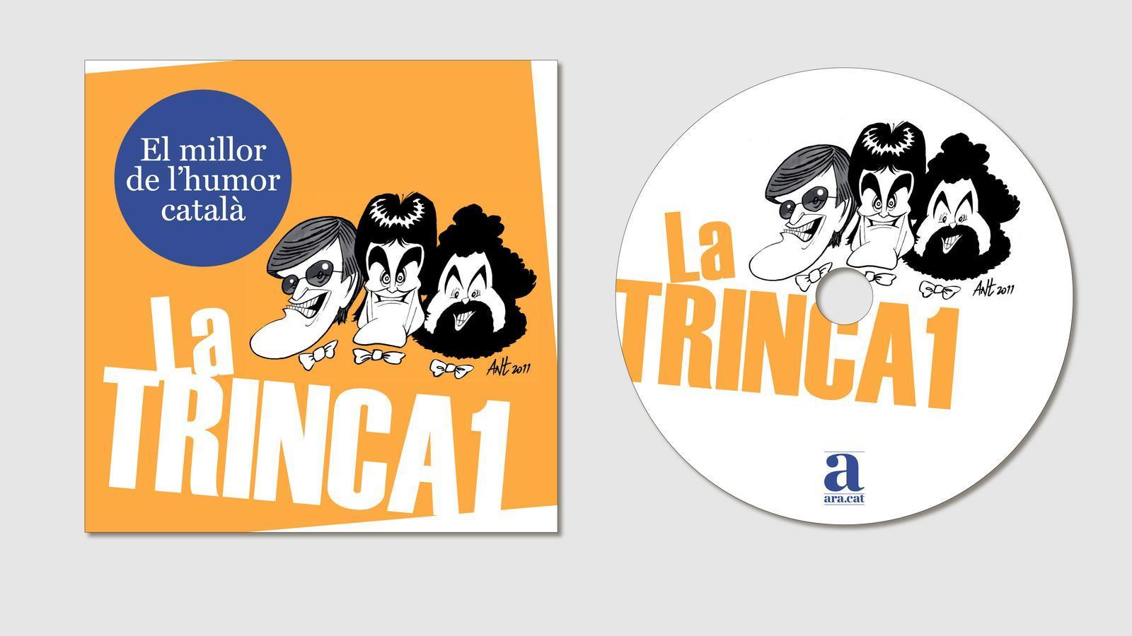 La Trinca, Joan Capri i l'Eugenio són El millor de l'humor català. Cada CD es podrà adquirir per 9,95 euros amb l'ARA.