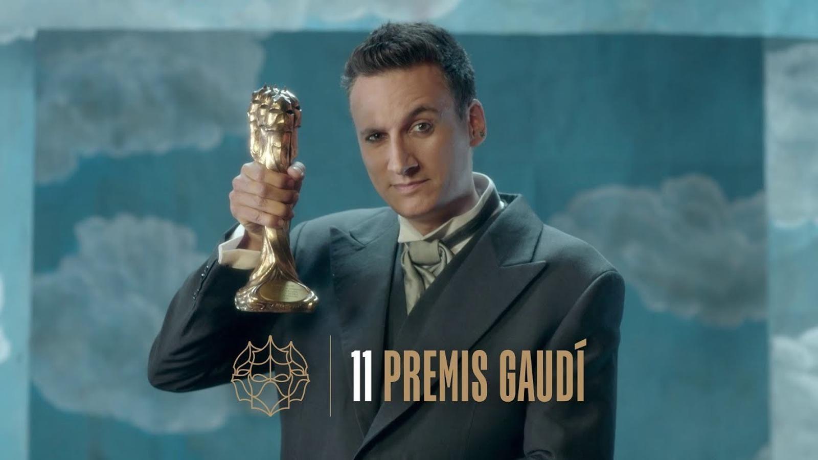 L'espot dels XI Premis Gaudí