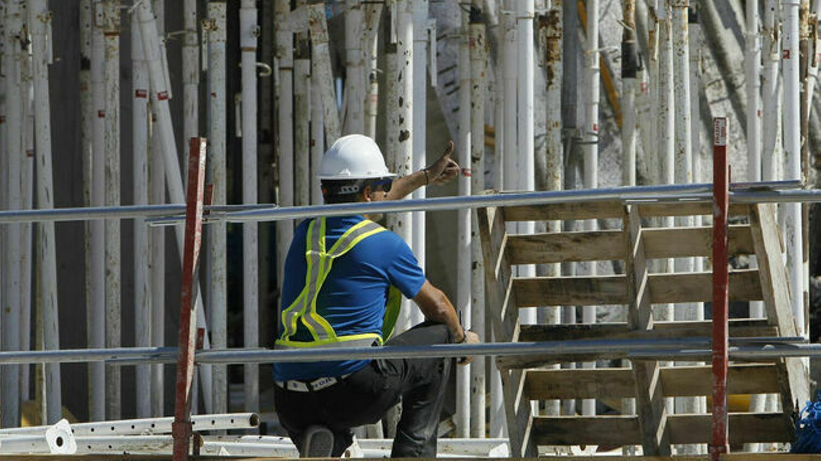 Més d'un milió d'espanyols treballen en la constructie i tornen avui a la feina