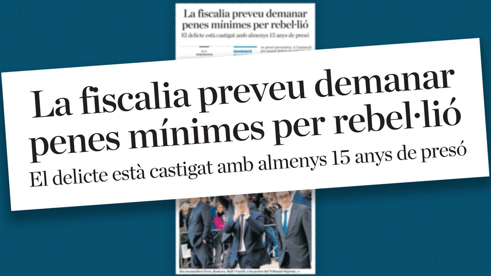 L'anàlisi d'Antoni Bassas: 'Pena mínima per rebel·lió, pena màxima per a tothom'