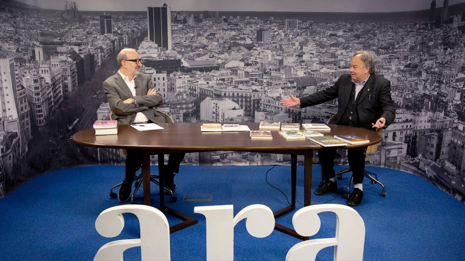 Antoni Bassas entrevista a Josep Maria Figueres