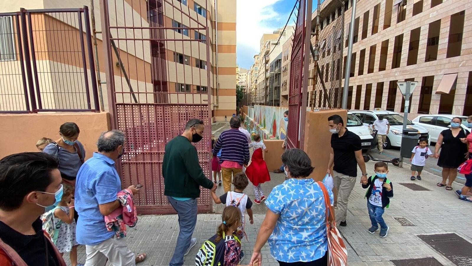 Els curs escolar va començar de manera esglaonada el passat 10 de setembre a les Balears