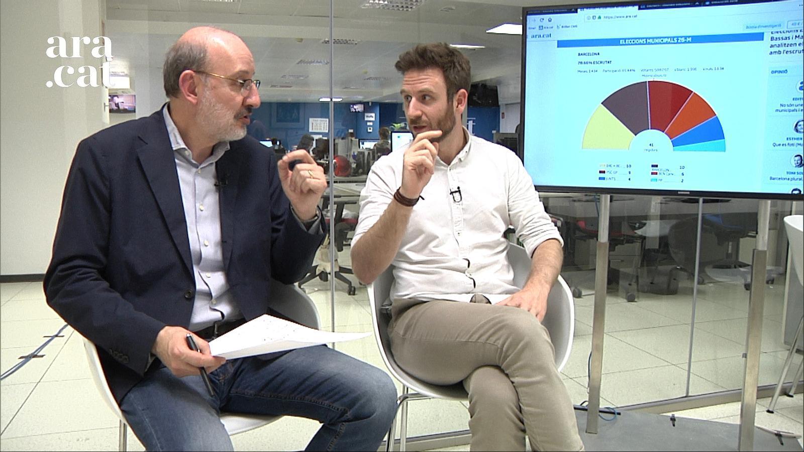 """Eleccions 26-M: """"Maragall, Puigdemont i el PSC, guanyadors de la nit"""""""