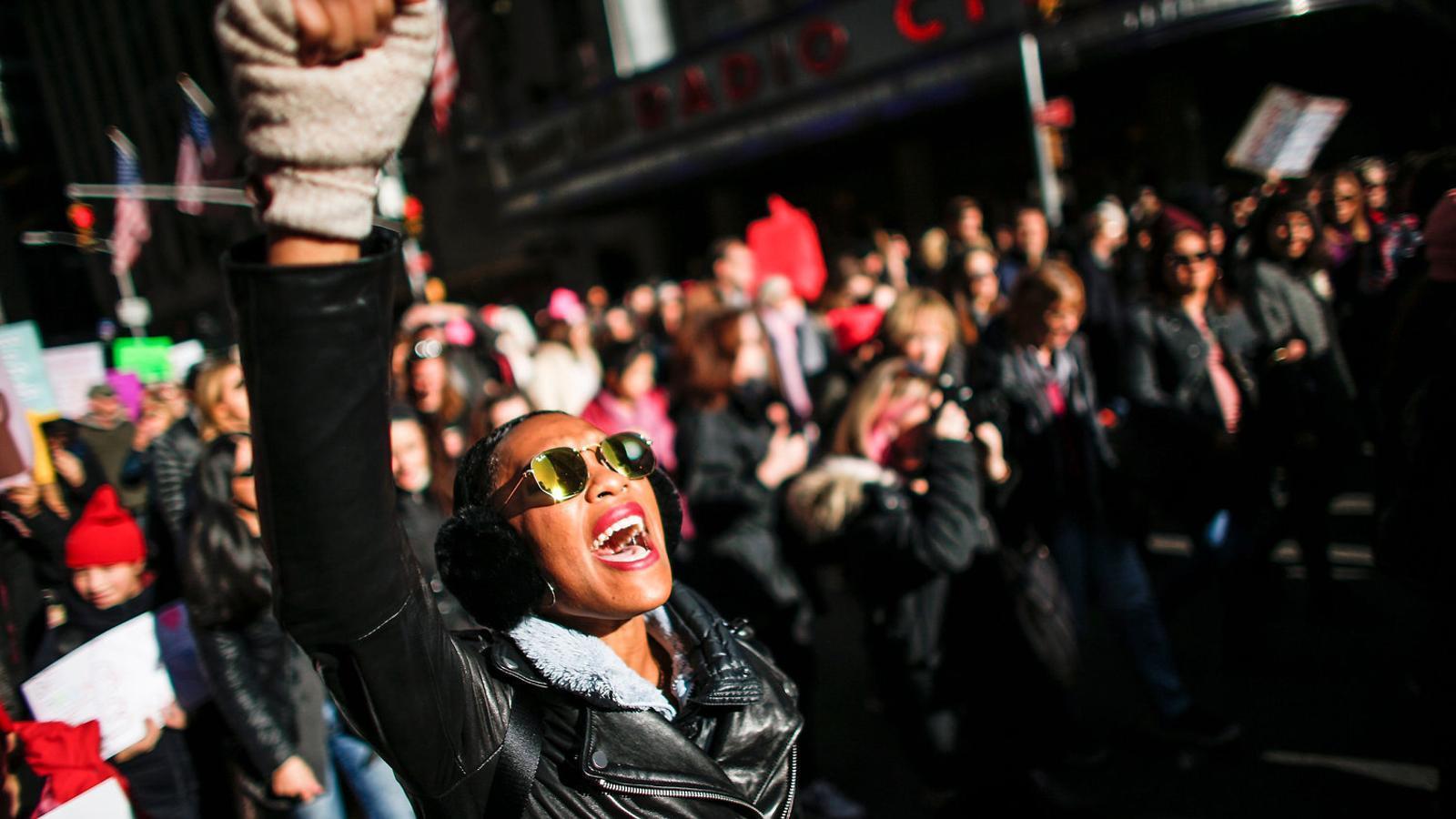 Les dones del món s'uneixen contra Trump