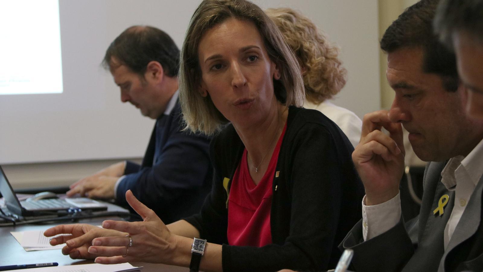 La consellera d'Empresa i Coneixement, Àngles Chacón.